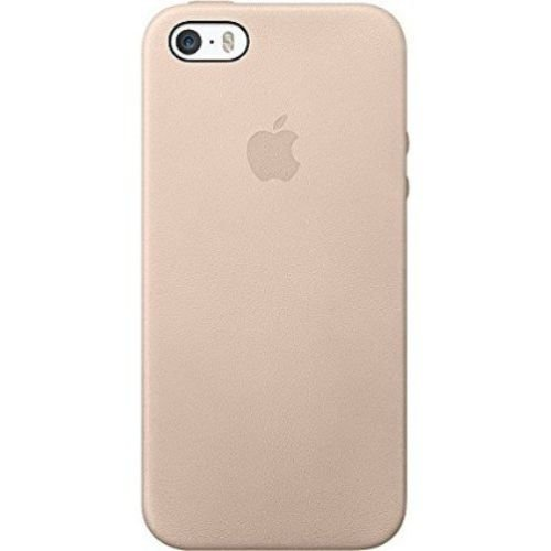 Apple Authentic Leather Case for Apple iPhone 5/5s/SE - Beige