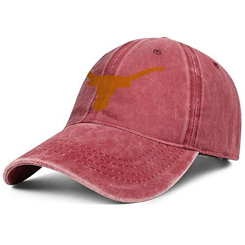 Texas Longhorns Cycling Jersey - OGSFDBF Texas Longhorns Logo Symbol Sign Cap Cowboy Hat Unisex Cool Journey Denim Hats
