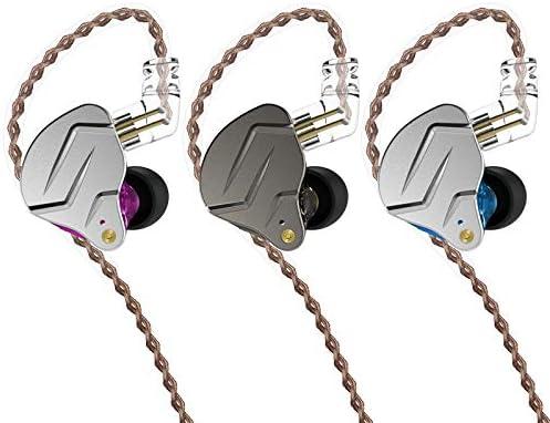 KZ ZSN PRO Headset HIFI Hybrid Technology Professional Dynamic In-ear Earphone Without mic, Grey