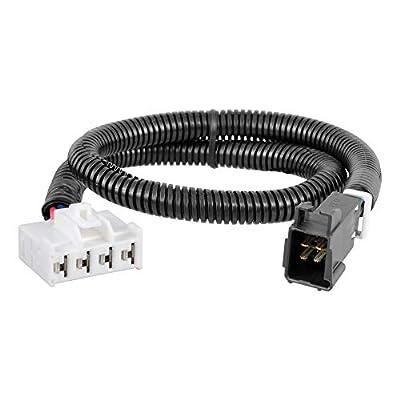 CURT 51333 Quick Plug Electric Trailer Brake Controller Wiring Harness, Select Dodge Ram 1500, 2500, 3500, Dakota, Durango, Chrysler Aspen: Automotive