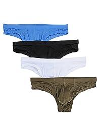 Nightaste Men's Comfort Bikini Briefs Lightweight Soft Triangle Underwear
