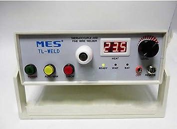 tl-weld termopar máquina de soldadura soldador 220 V tl-weld alta fiabilidad termopar soldadura máquina para termopar bola punto Forming máquina: Amazon.es: ...