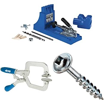 Kreg Jig K4 Pocket Hole System - Power Drill Accessories
