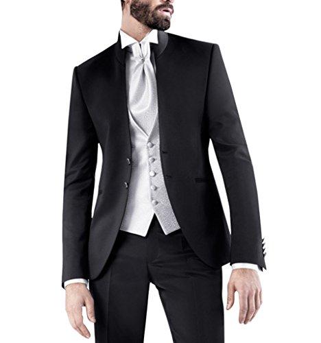 Suit Me Uomo 2 pezzo basamento del collare Suit di affari Suit per giacca festa di nozze, gilet, pantaloni