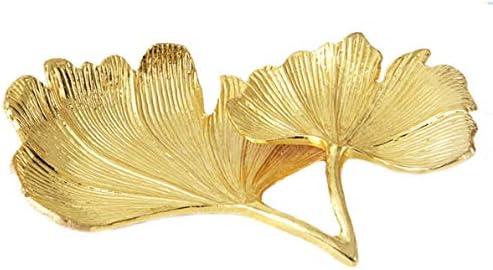 MODMHB ジュエリーケース ディスプレイ トレイ アクセサリートレイ 展示 時計 アンティーク風 イチョウの葉