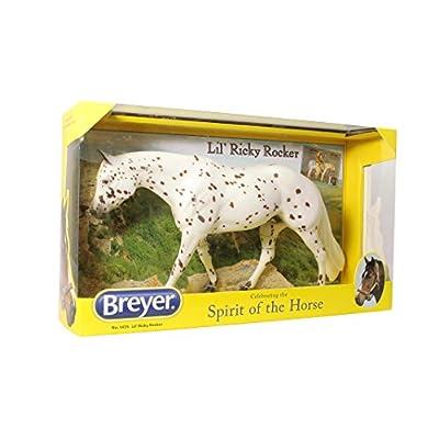 Breyer Traditional Lil' Ricky Rocker Horse Toy Model: Toys & Games