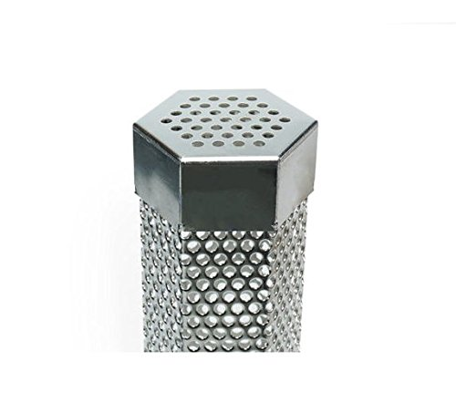 12 stainless steel smoker tube smoker box use wood pellets or wood chips 862790000345 ebay. Black Bedroom Furniture Sets. Home Design Ideas