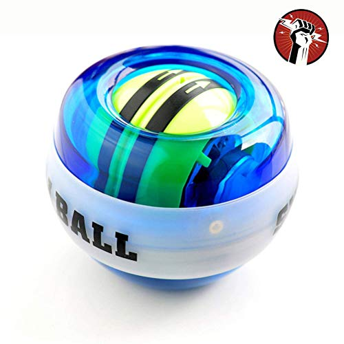 York Eliot Auto-Start Wrist Trainer Wrist Ball Trainer Powerball Arm Strengthener Gyroscopic Wrist and Forearm Exerciser Ball - Arm Strengthener for Stronger Muscle and Bones