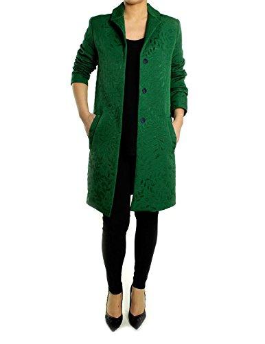 Abrigo Essentiel Verde Brocado Verde