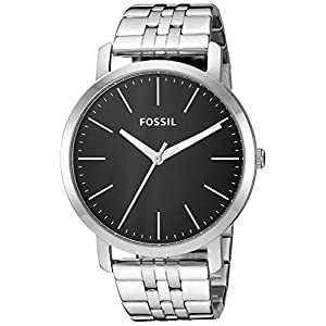 Fossil Analogue Men's Watch (Black Dial)