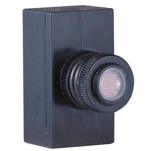 Hubbell-Bell-PE100-Rated-1000-watt-Weatherproof-Outdoor-Photoelectric-Switch-Black