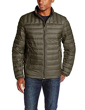 Tommy Hilfiger Men s Packable Down Jacket (Regular and Big   Tall ... f4af03882019