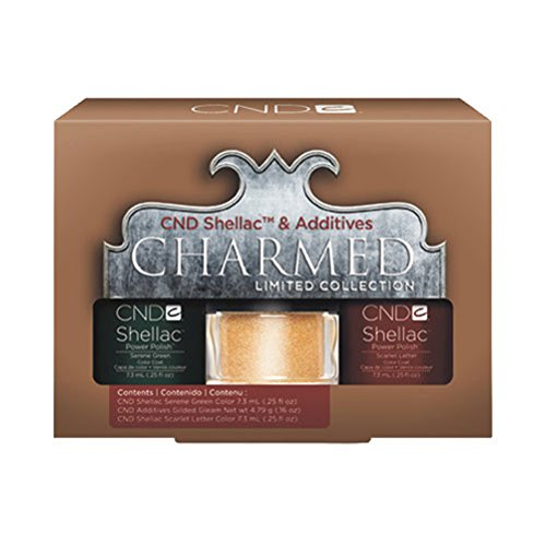 CND Shellac & Additives Charmed Limited Collection *Nail Reader' Choice Awards 2012 Winner