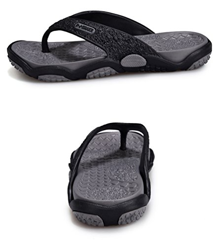 Sentao Hombre Chancletas Playa Piscina Zapatilla Casual Outdoor Sandalias Flip Flops Estilo 3