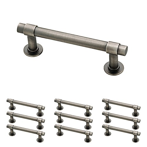 "Franklin Brass P29520K-904-B Straight Bar Pull, 3"" (76mm), Gunmetal, 10 Piece"
