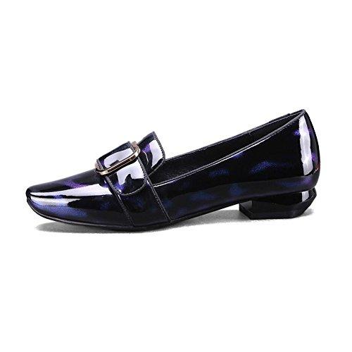 uk3 Pointu Chaussures Travail À Cjc T1 Pointus Talons Eu35 De couleur Bout Légères Bureau T1 Femmes Taille AUZnHqYw