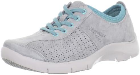 Elise Sneaker, Grey Suede