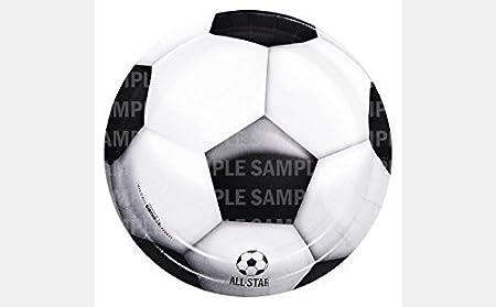 Balón de fútbol FIFA Cumpleaños Comestible imagen Hoja de ...