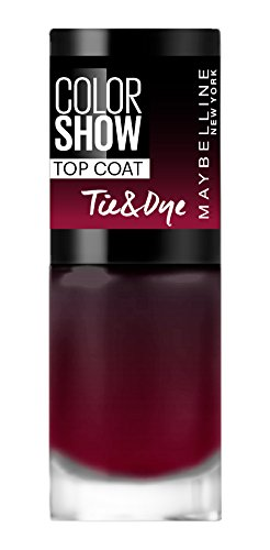 Gemey Maybelline Colorshow – Smalto Top Coat -84 Tie and Dye, Effetto Tye And Die