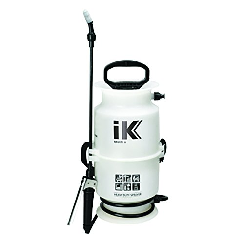 iK 1.06 Gallon Multipurpose Compression Sprayer for Car Detailing, Herbicides, Pesticides, Fertilizers, & (Garden Compression Sprayer)