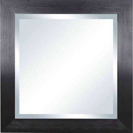20'' x 20'' Sawyer Beveled Mirror ( Hanging mirror has a rustic and industrial chic design )