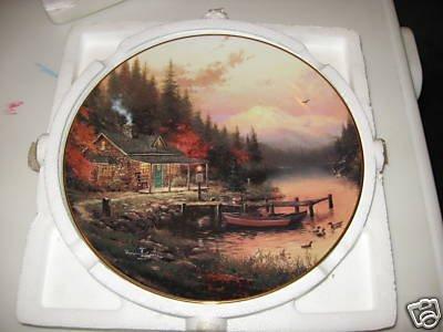 Thomas Kinkade Collector Plate - 2