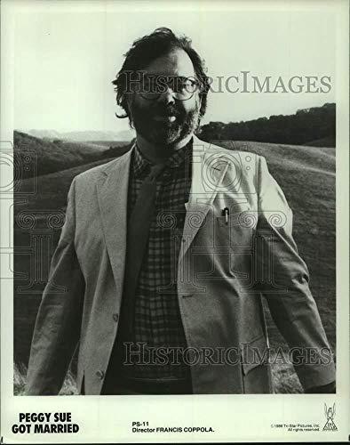 Vintage Photos 1986 Press Photo Peggy Sue Got Married Director Francis Coppola - hcp12072