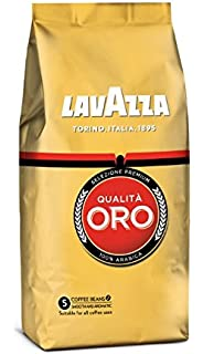 Lavazza Café de grano tostado Qualità Oro - Paquete de 4 x 500 g - Total
