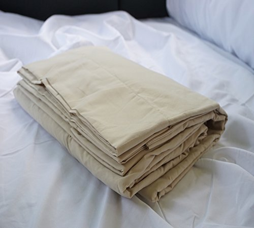 Byourbed BYB Square Double Sheet Set - RV Bedding (Available in 4 Colors) (Wood Ash)