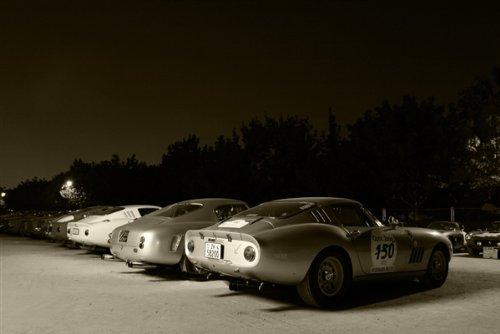 Ferrari 275 Gtb Black and White Hd Poster Classic Super Car Print