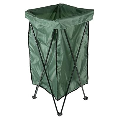 Aunt Chris' Products - Garden Plus ~ Deluxe - Fold-Up - Lawn Leaf or Trash Bag - Holder Stand (Use With Bag Included or Other Bags)