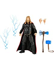 Hasbro Marvel Legends Series 6-inch Scale Action Figure Toy Thor, Infinity Saga character, Premium Design, Figure and 6 Accessories