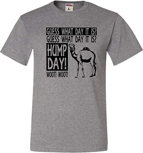 Large Oxford Adult Hump Day Camel Commercial T-Shirt