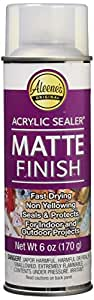 Aleene's Spray Acrylic Sealer Matte Finish 6oz