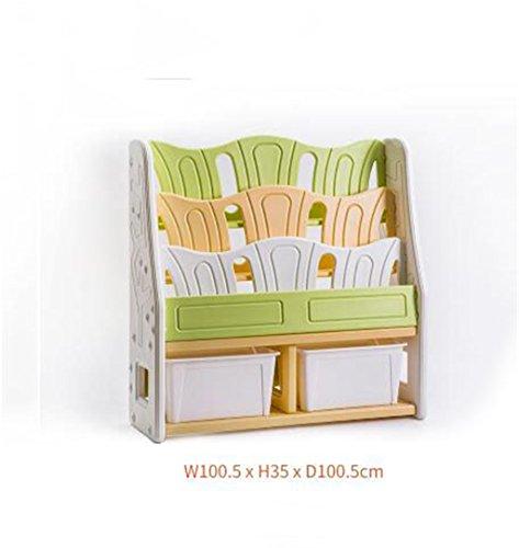 Rack Shelf Childrenu0027s Bookshelf Plastic Simple Kindergarten Finishing Baby  Picture Book Storage Toy Storage Cabinet (