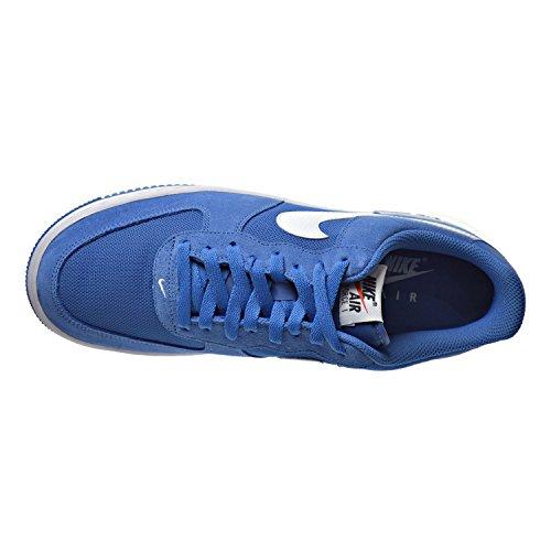 Nike Air Force 1, Zapatillas de Baloncesto para Hombre Azul (Star Blue / White)