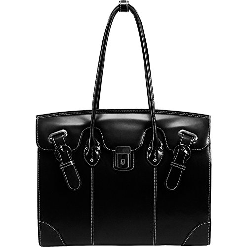 McKleinUSA LECLAIRE 96875 Black Ladies' Laptop Tote by McKleinUSA