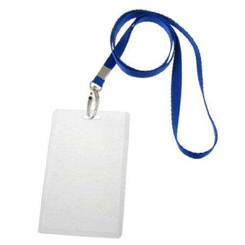 UPC 608641298260, uxcell 5 Pcs PVC ID Photo Work Card Holders w 5 Straps