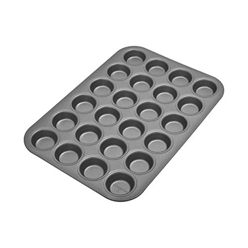 Chicago Metallic Commercial II Non-Stick 24 Cup Mini Muffin Pan ()
