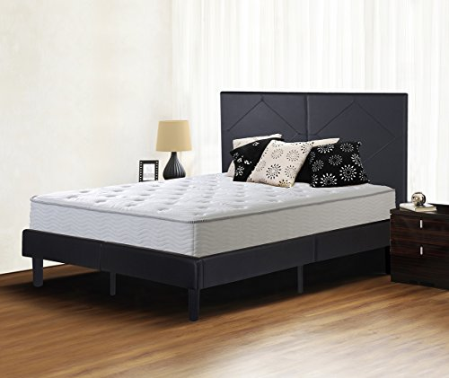 sleeplace delux faux leather wood