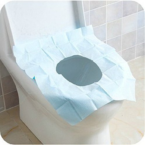 5 pcs Disposable Toilet Paper mat Portable Home Travel Hotel Toilet Seat Cover Bathroom accessories Supplies Products by homesky
