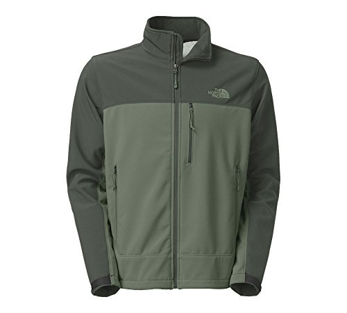 The North Face Mens Apex Bionic Windproof Jacket (Large, Laurel Wreath Green/Spruce Green)