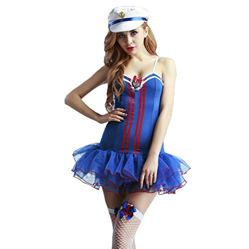 Greece Costumes Ideas (SheNSsexy Sexy Sailor Soldiers Costume Lingerie For Women For Sex Halloween Nightclub Cosplay Mini Skirt Dress Outfit)