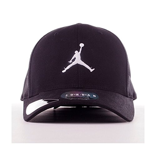 12ca660a5151 ... where to buy nike mens jordan unisex flex fit hat black white 606365  014 size small ...