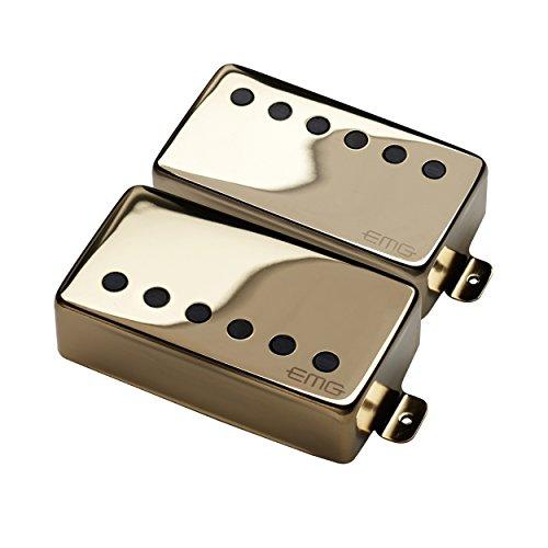 EMG JH James Hetfield Electric Guitar Pickup Set, Gold