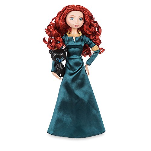Disney Merida Classic Doll with Bear Cub Figure - 11 1/2 Inch from Disney