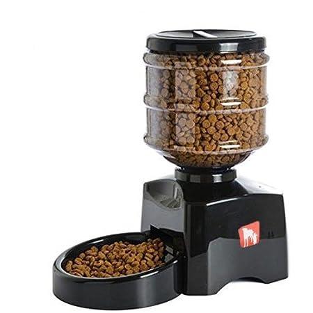 PEDY Distributeur de Nourriture Alimentation pour Chien Croquettes Automatique 5.5 LITRES Pour Pet Chien Chat Mvpower