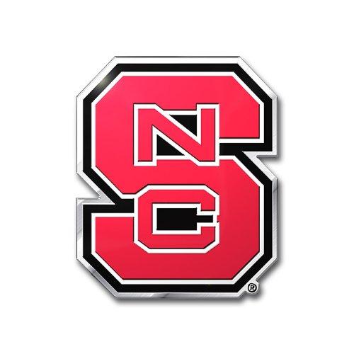 North Carolina State Wolfpack Car - NCAA North Carolina State Wolfpack Die Cut Color Auto Emblem