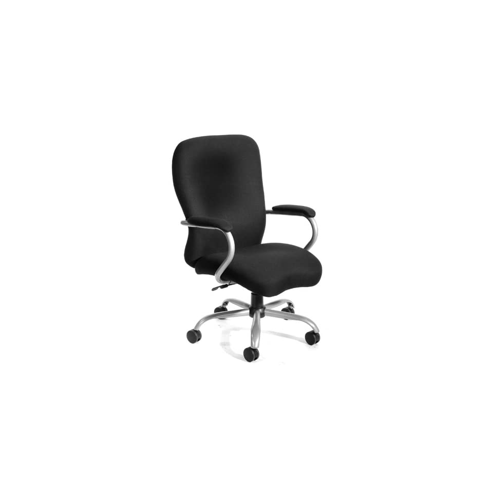 BOSS HEAVY DUTY MICROFIBER CHAIR   350 lbs   Delivered