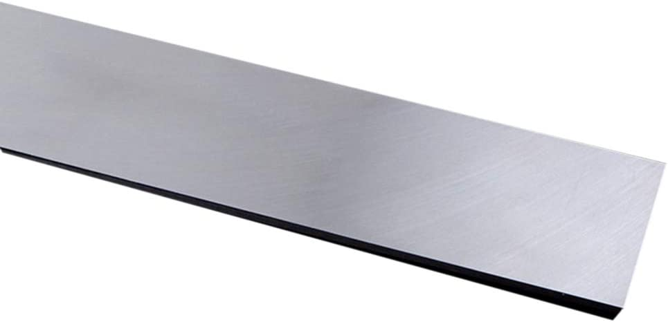JKGHK Stainless Steel Bars Flat Bar Can Be Used for Hardware Accessories,8mm x 60mm x 200mm